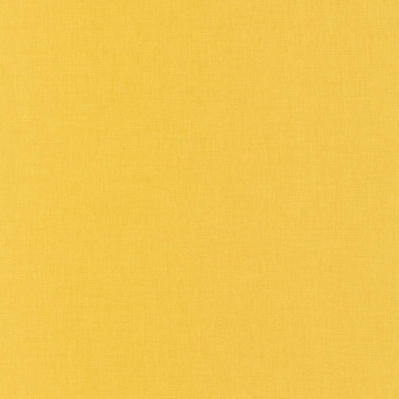 Papier peint Uni jaune foncé - LINEN - Caselio - INN68522015