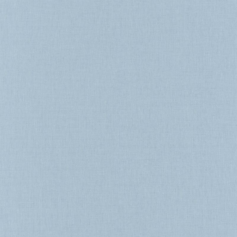 Papier peint Linen Uni bleu clair - LINEN - Caselio - INN68526000