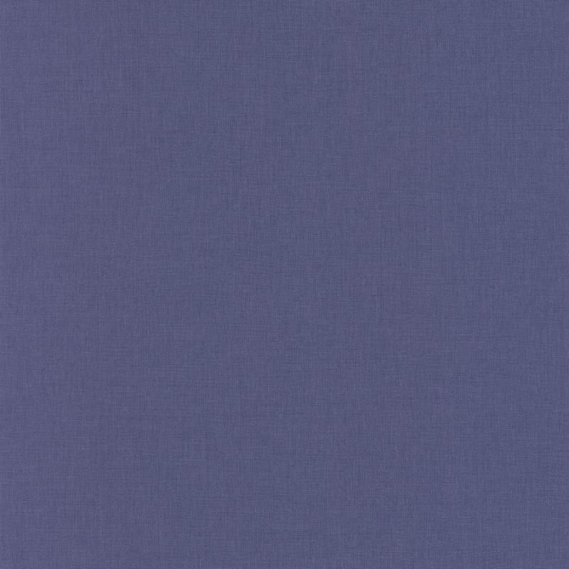 Papier peint Linen Uni violet  - LINEN - Caselio - INN68525283