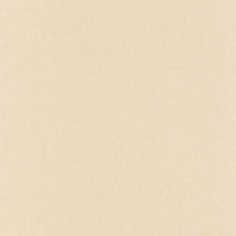 Papier peint Linen Uni beige moyen - LINEN - Caselio - INN68521289
