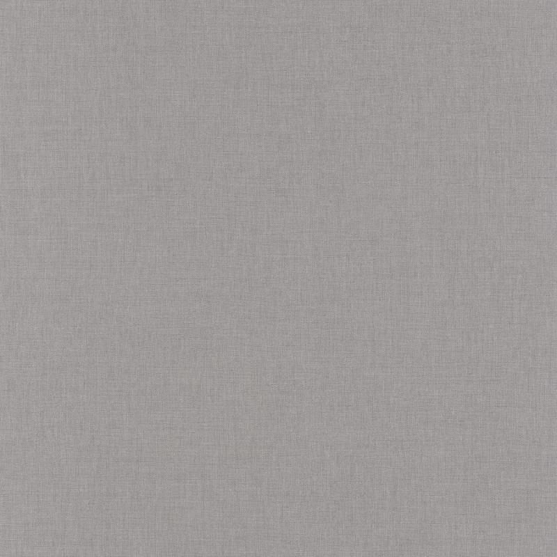 Papier peint Linen Uni gris foncé - LINEN - Caselio - LINN68529350