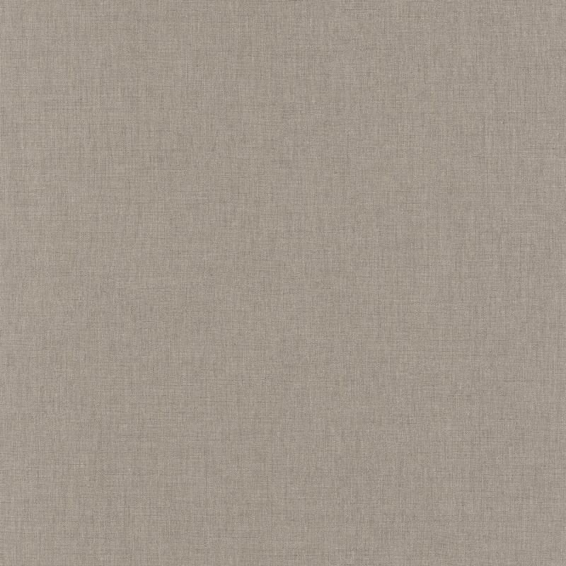 Papier peint Uni taupe foncé - LINEN - Caselio - LINN68521992