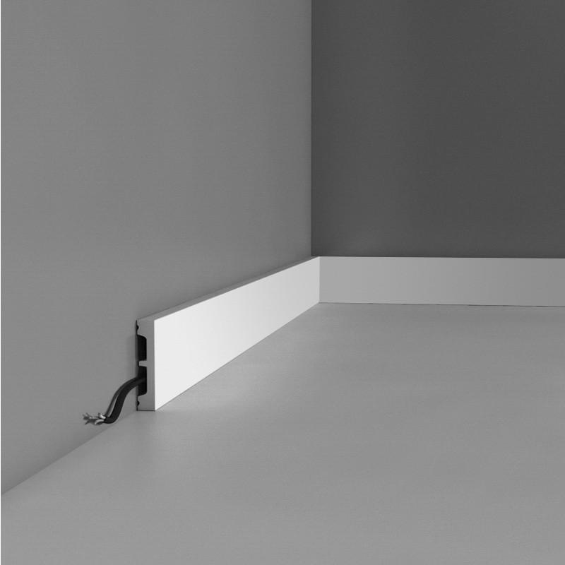 Plinthe Middle 2m30 - facile à peindre et résistante - CORETEC