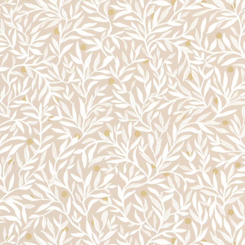 Papier peint Ballade beige doré - L'ESCAPADE - Caselio - EPA102341079