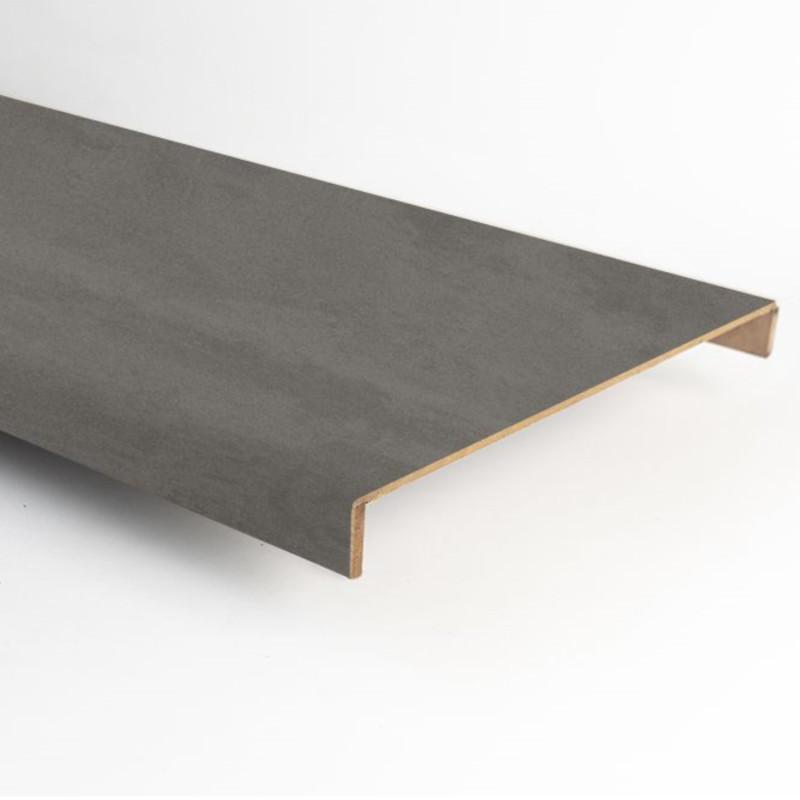 Marche stratifiée double XXL béton gris foncé 111 - Concept d'escalier Maëstro Steps