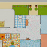Sol PVC - Ma 1ère maison multicolore - Iconik Confort TARKETT - rouleau 2M