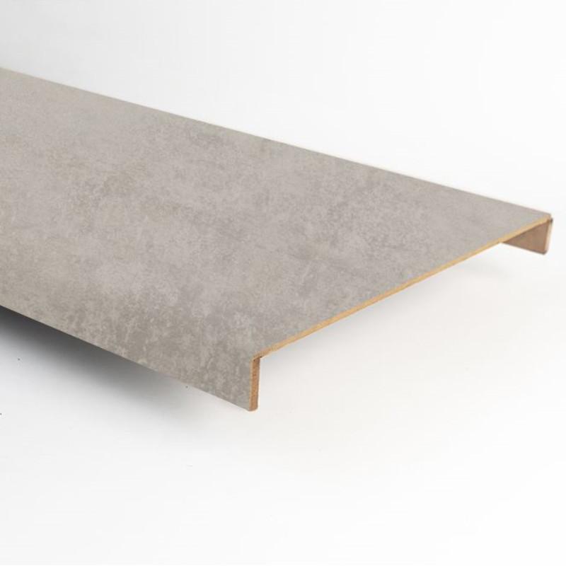 Marche stratifiée double XXL béton gris clair 112 - Concept d'escalier Maëstro Steps