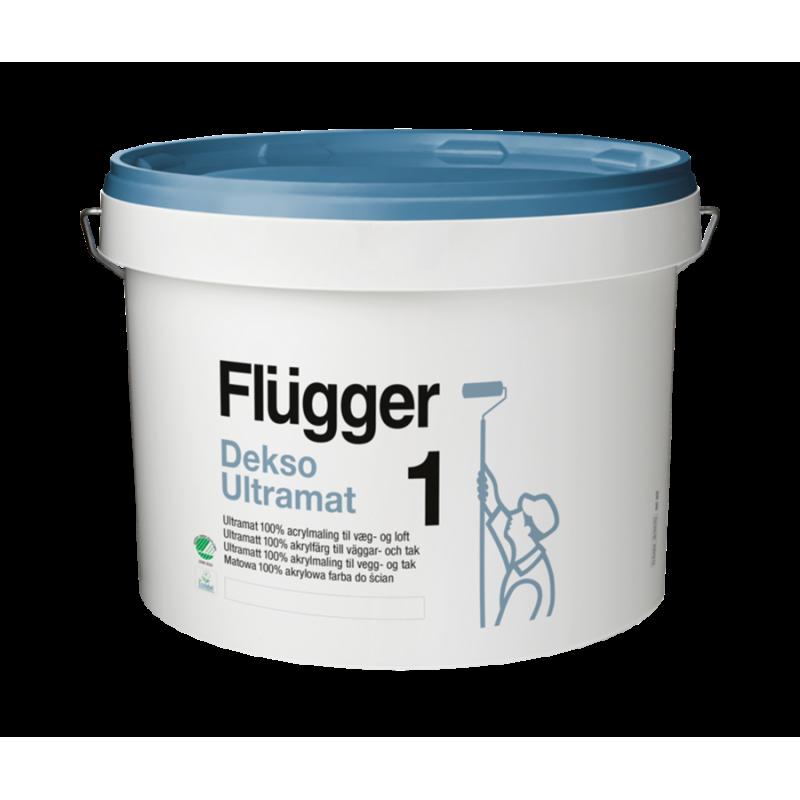Peinture Dekso Ultramat 1 blanche - Mur et plafond - FLUGGER