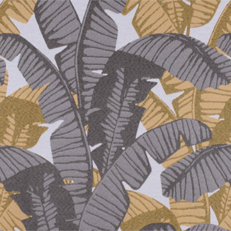 Rideau à œillets Bananier jaune - Linder - 1448-31