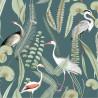 Papier peint intissé Héron bleu canard - EDEN - Ugepa - M37414