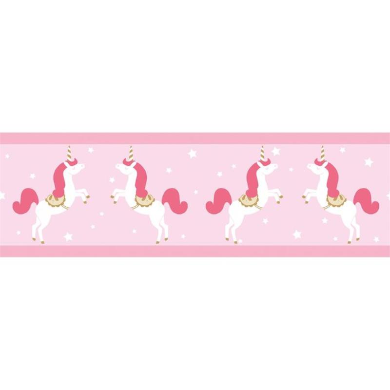Frise enfant Unicorns rose - GIRL POWER - Caselio - GPR100904233