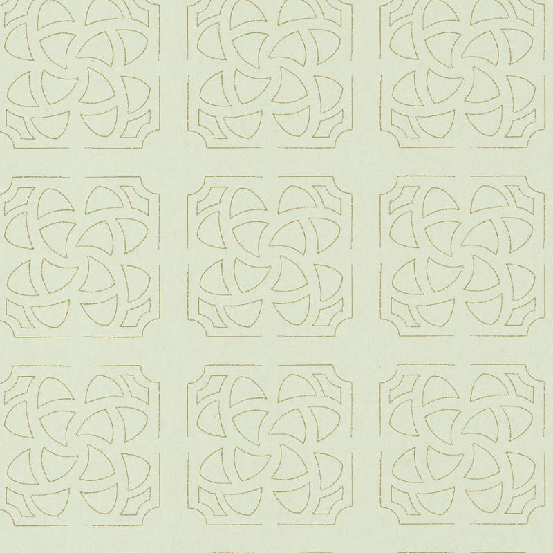 Papier peint Hortus vert amande - BOTANICA - Casadeco - BOTA85937204