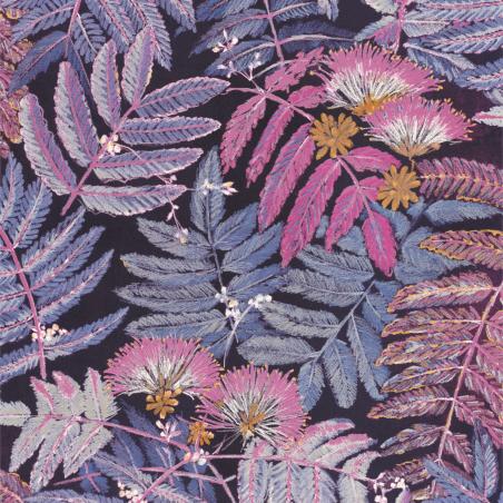 Papier peint Albizia violine - BOTANICA - Casadeco - BOTA85895328