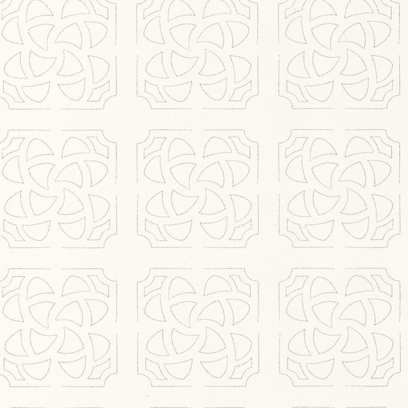 Papier peint Hortus blanc taupe - BOTANICA - Casadeco - BOT85930271