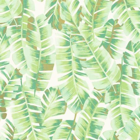 Papier peint Folium vert feuille - BOTANICA - Casadeco - BOTA85947340