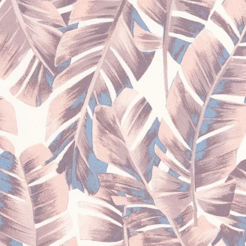 Papier peint Folium rose poudré - BOTANICA - Casadeco - BOTA85944167