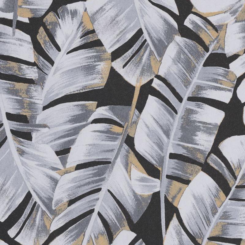 Papier peint Folium noir - BOTANICA - Casadeco - BOTA85949852