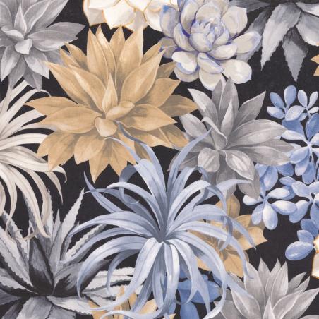 Papier peint Echeveria noir beige - BOTANICA - Casadeco - BOTA85911964