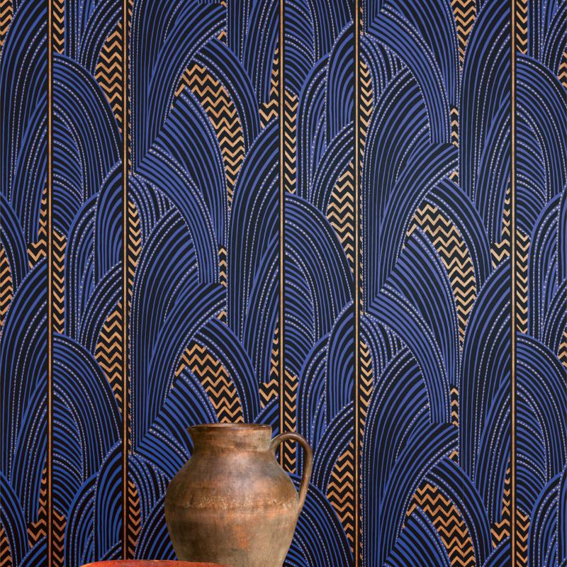 Papier peint Indra Amparo - AGATHE - Khrôma by Masureel - AGA102