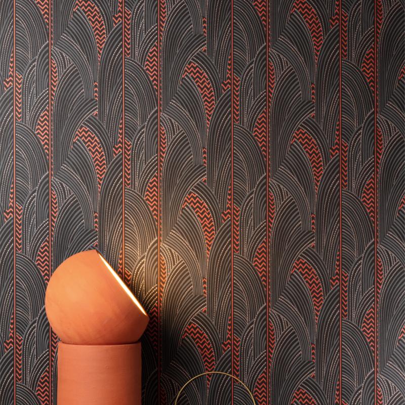 Papier peint Indra Spice - AGATHE - Khrôma by Masureel - AGA103