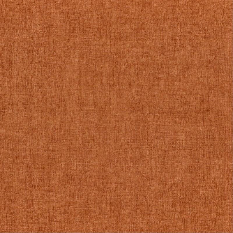Papier peint Diola orange brûlée - KARABANE - Casamance - 75151528