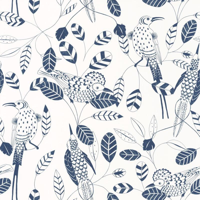 Papier peint Elegante midnight blue - ONLY BLUE - Caselio - ONB102676222