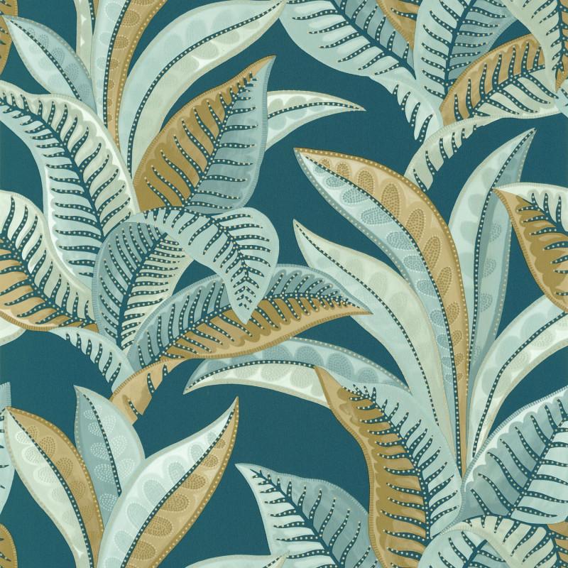 Papier peint Vitamin Sea bleu nuit - SEA YOU SOON - Caselio - SYO102766664