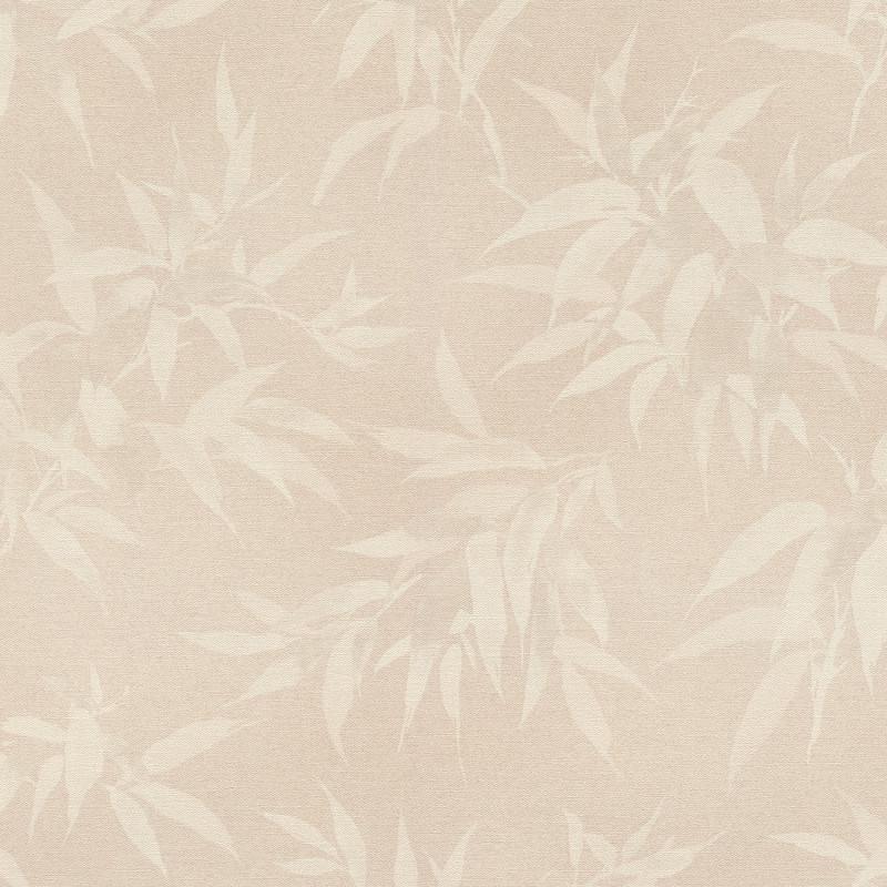 Papier peint Bambous perle fond rose poudrée - KIMONO - Rasch - 409758