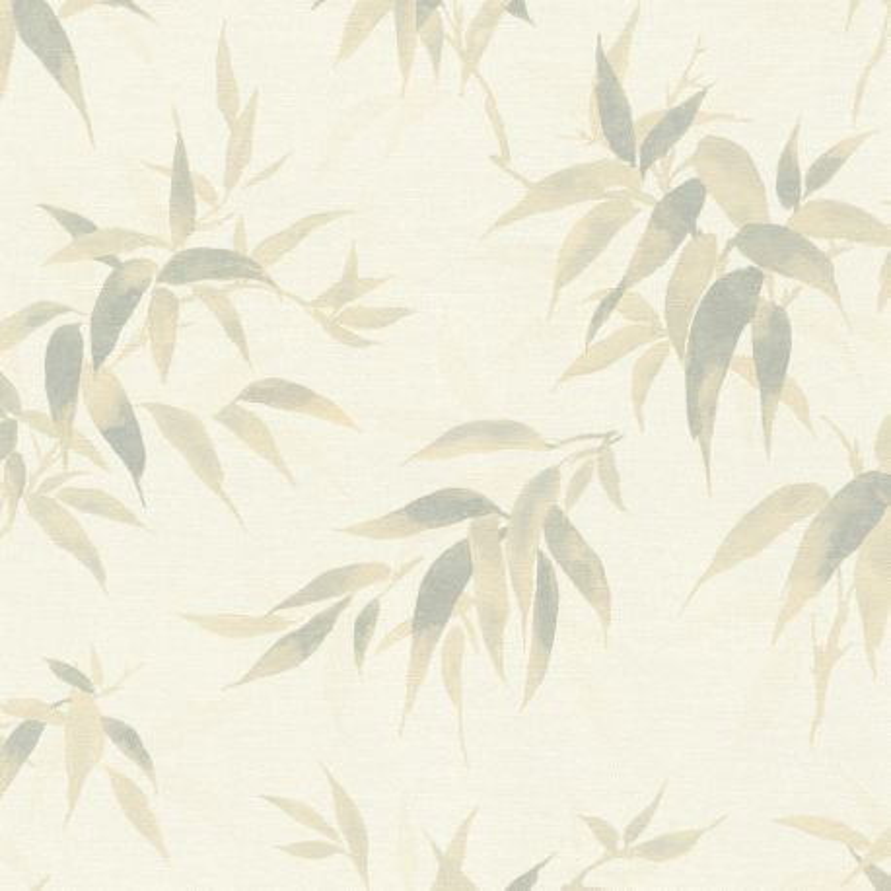 Papier peint Bambous perle - KIMONO - Rasch - 409741