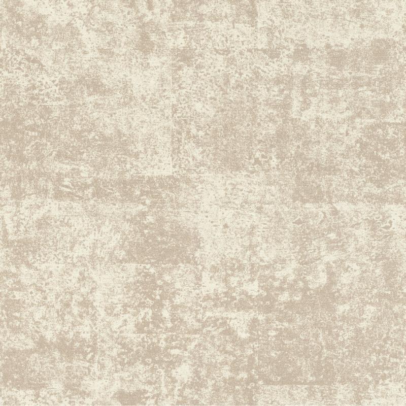 Papier peint Faux Uni Brillant blanc beige - KIMONO - Rasch - 410716