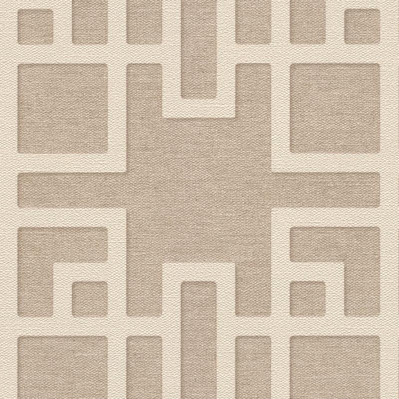 Papier peint Maison De Thé beige - KIMONO - Rasch - 409246
