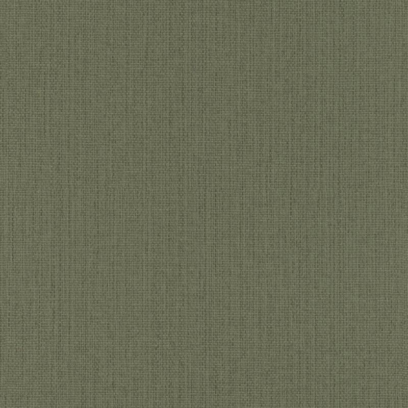 Papier peint Uni vert kaki - KIMONO - Rasch - 407945