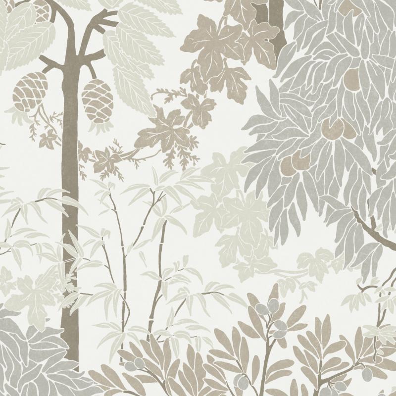 Papier peint Amazone Mastic - OLIVIA - Zoom by Masureel - OLI201