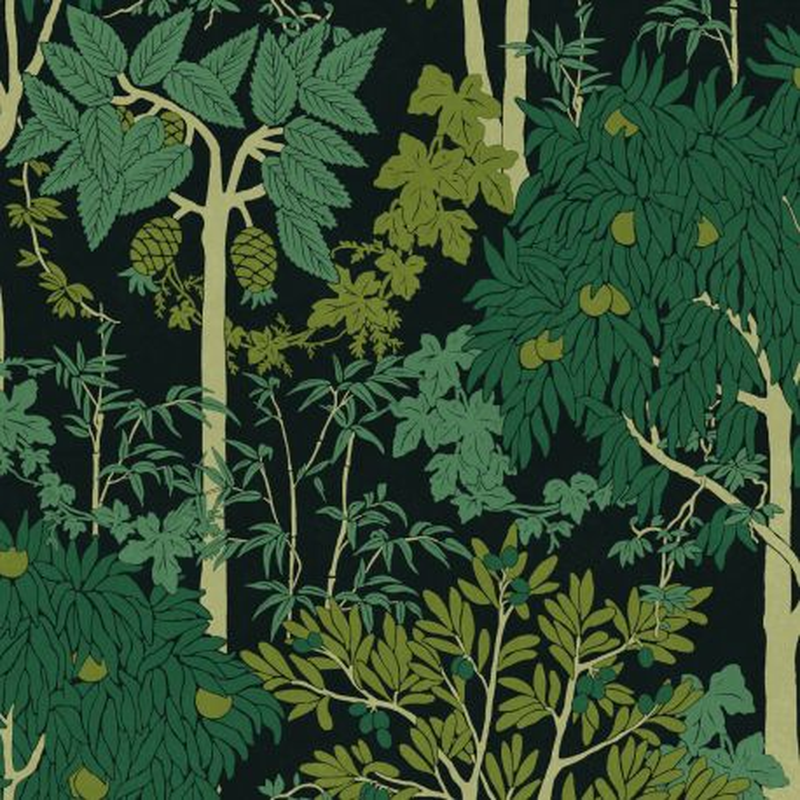 Papier peint Amazone Greenery - OLIVIA - Zoom by Masureel - OLI203