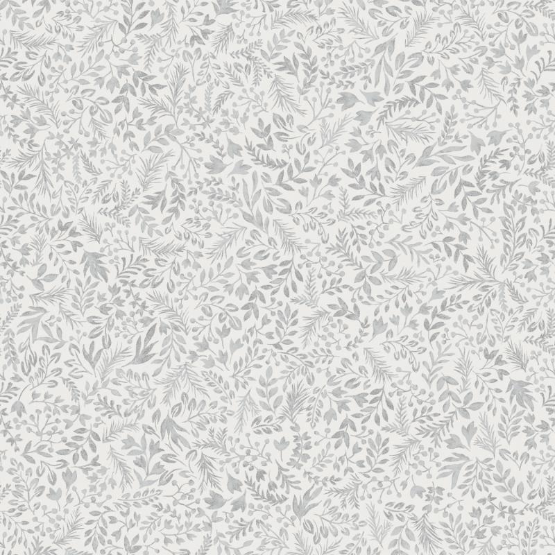 Papier peint Rio Silver - OLIVIA - Zoom by Masureel - OLI501