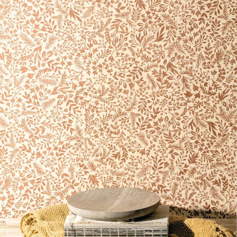 Papier peint Rio Sierra - OLIVIA - Zoom by Masureel - OLI505