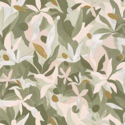 Papier peint Fauve kaki beige doré - IMAGINATION - Caselio - IMG102167009