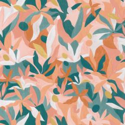 Papier peint Fauve terracotta rose doré - IMAGINATION - Caselio - IMG102163049
