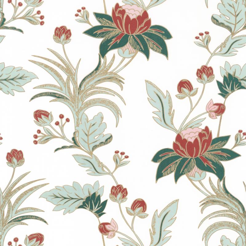 Papier peint Elegance blanc irisé - DREAM GARDEN - Caselio - DGN102277213