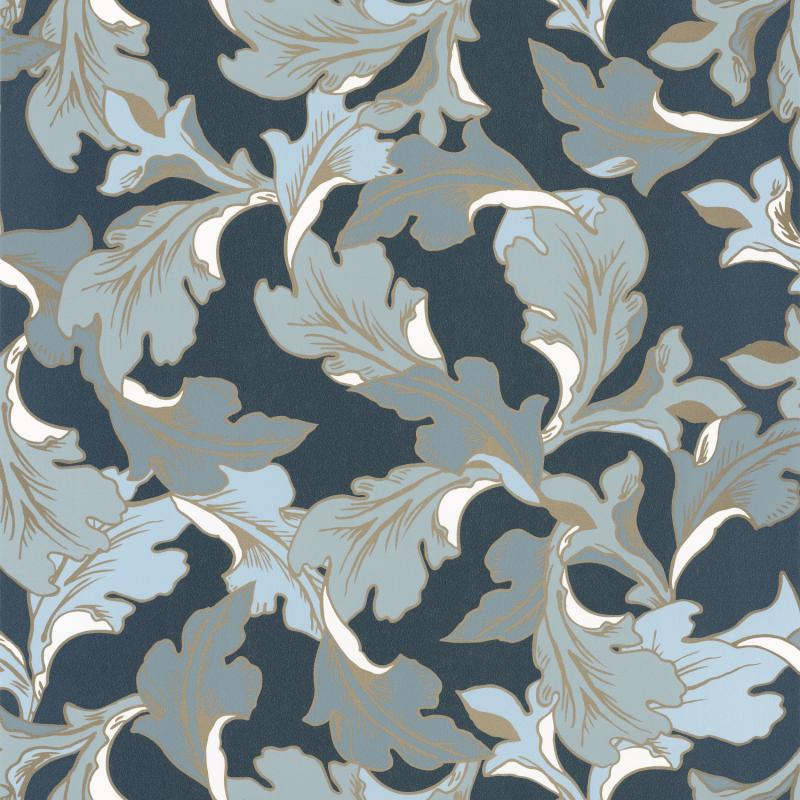 Papier peint Emotion bleu nuit doré - DREAM GARDEN - Caselio - DGN102286129