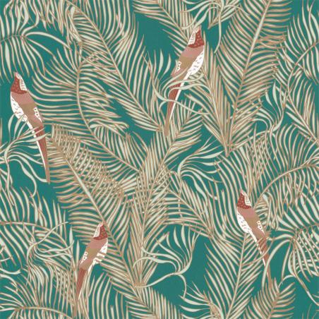 Papier peint Enchantment vert émeraude irisé - DREAM GARDEN - Caselio - DGN102257130