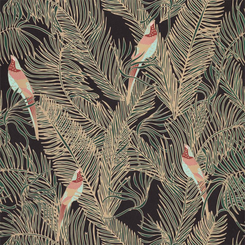 Papier peint Enchantment vert sapin irisé - DREAM GARDEN - Caselio - DGN102257280