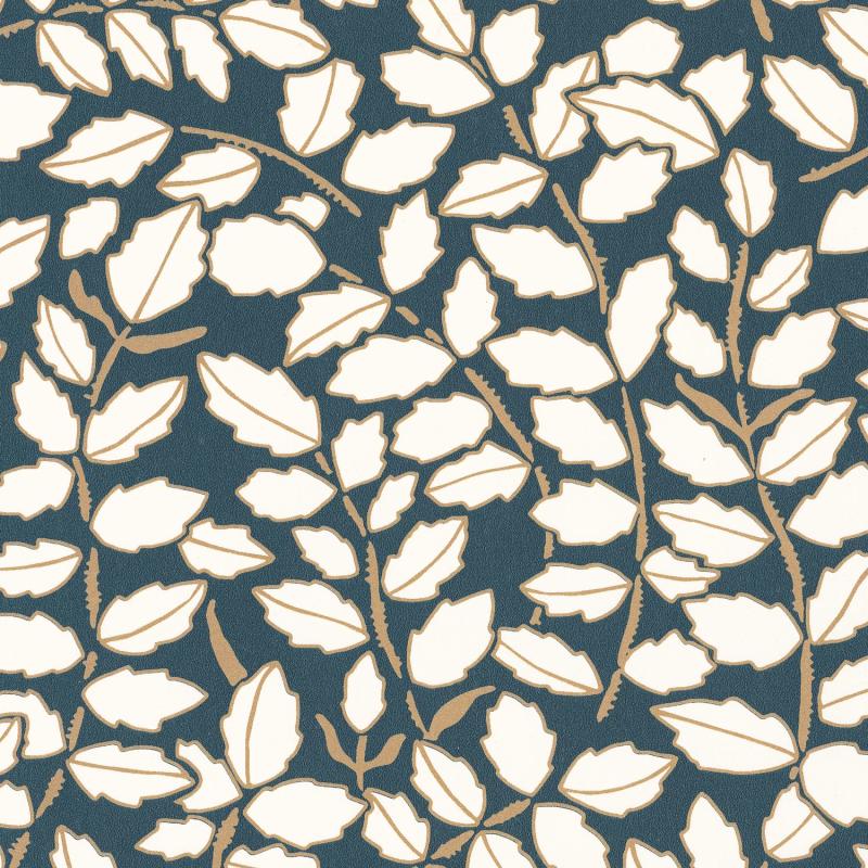 Papier peint Feeling bleu nuit doré - DREAM GARDEN - Caselio - DGN102296121