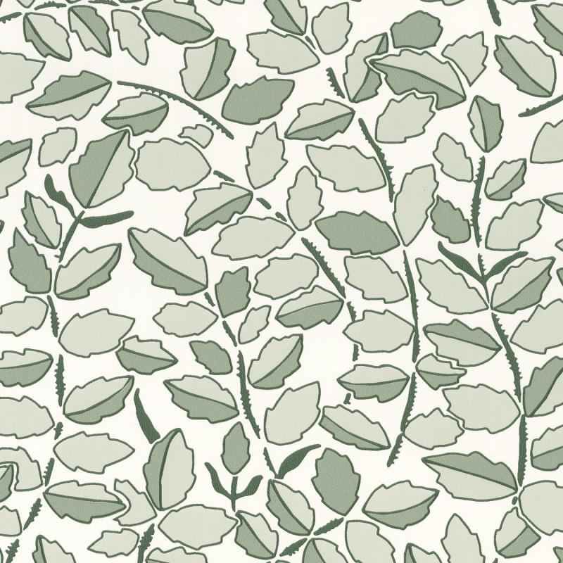 Papier peint Feeling vert amande doré irisé - DREAM GARDEN - Caselio - DGN102297026