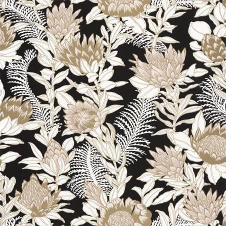 Papier peint Fragrance beige noir doré - DREAM GARDEN - Caselio - DGN102241092