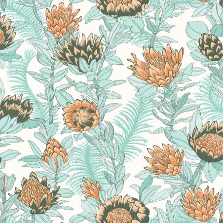 Papier peint Fragrance vert d'eau - DREAM GARDEN - Caselio - DGN102247010
