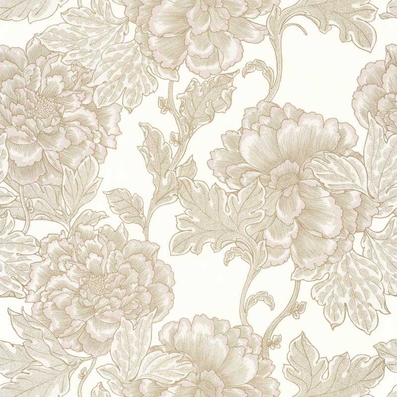Papier peint Romance beige doré - DREAM GARDEN - Caselio - DGN102261020