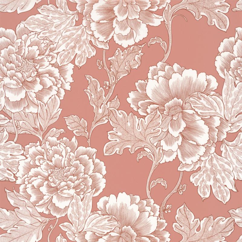 Papier peint Romance terracotta cuivre - DREAM GARDEN - Caselio - DGN102264049