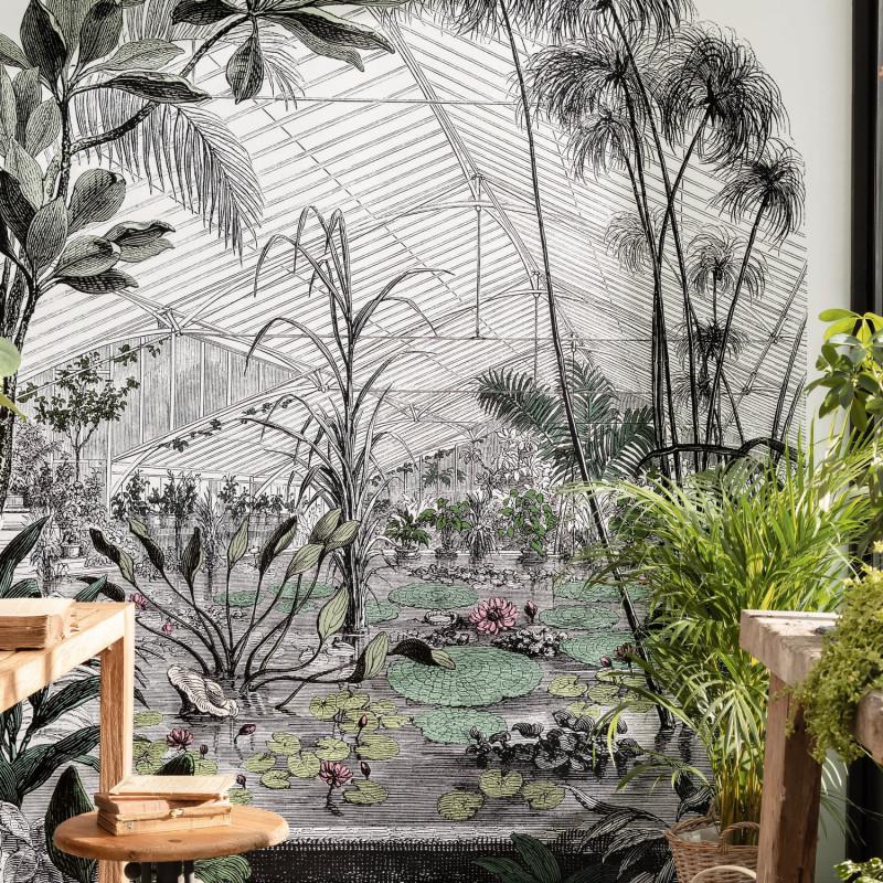 Panoramique Jardin D'hiver multicouleurs - BEAUTY FULL IMAGE 2 - Caselio - BFM102397070