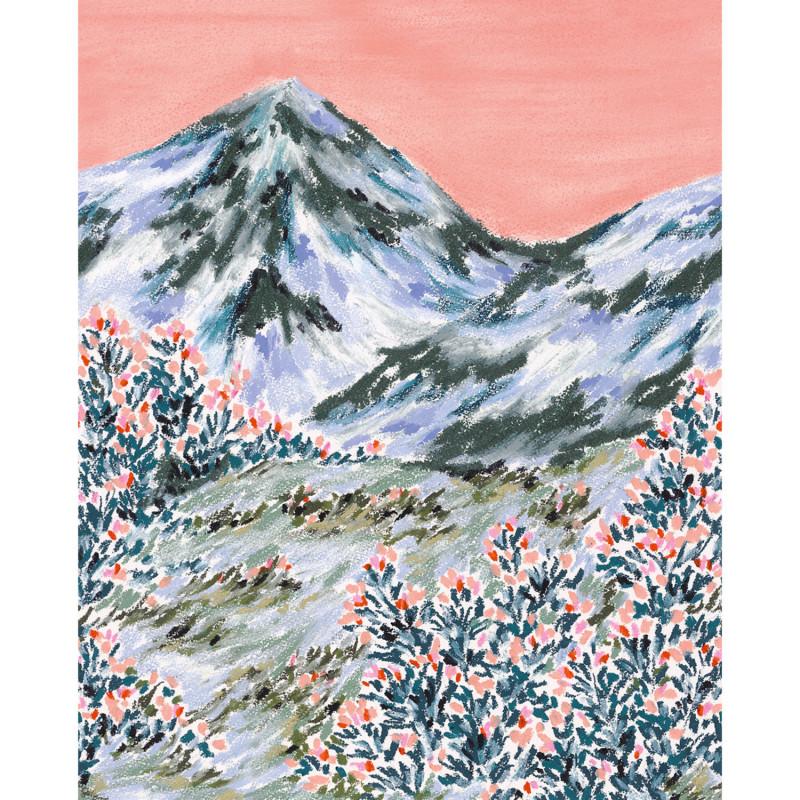 Panoramique Petits Bonheurs multicouleurs - BEAUTY FULL IMAGE 2 - Caselio - BFM102404075